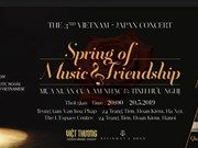 Concert d'amitié Vietnam-Japon à Hanoi