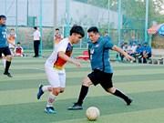 Echange d'amitié entre jeunes vietnamiens et cambodgiens