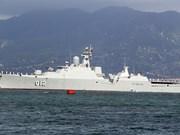 Un navire militaire du Vietnam effectue une visite d'amitié au Myanmar