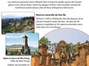 Des sites célèbres sur la carte touristiques du monde de la province de Khanh Hoa