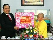 Le chef du FPV  formule les vœux pour le 2563e anniversaire de Bouddha