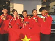 Le Vietnam remporte 72 médailles au Championnat de taekwondo de l'ASEAN