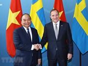 Entretien entre les Premiers ministres vietnamien et suédois