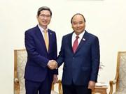 Le PM Nguyen Xuan Phuc reçoit le président du groupe d'amitié parlementaire R. de Corée-Vietnam