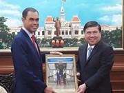 Ho Chi Minh-Ville salue l'attention d'investisseurs malaisiens pour ses projets de métro
