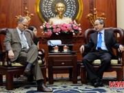 Un dirigeant de Ho Chi Minh-Ville reçoit l'ambassadeur allemand
