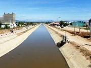La Belgique finance la modernisation du canal de Câu Ngoi à Ninh Thuân