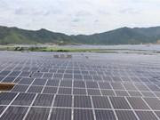 Inauguration de la centrale solaire LIG-Quang Tri