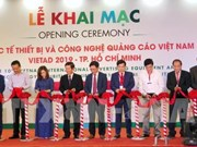 Ouverture du salon de la publicité VietAd 2019 à Ho Chi Minh-Ville