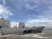 Les dirigeants de Da Nang reçoient les membres d'équipage du navire-école japonais Kojima