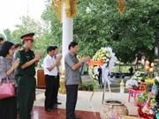 La 72e Journée des Invalides de guerre et des Morts pour la Partrie célébrée au Laos et au Cambodge