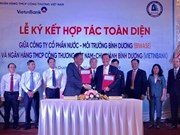 Binh Duong: plus de 172 millions d'USD pour réaliser des projets d'approvisionnement en eau
