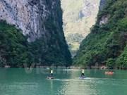 Les rameurs conquièrent le canyon de Tu San