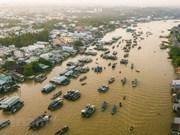 Marché flottant de Cai Rang - destination touristique majeure de la région du Nam Bô occidental