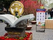 Découvrir la Rue des livres du printemps de l'Année du Buffle 2021 à Hanoï