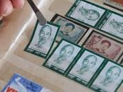 Collection de timbres sur le Président Hô Chi Minh
