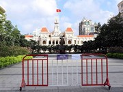 Ho Chi Minh-Ville applique la distanciation sociale conformément à la directive 15/TTg