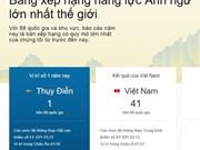 Compétences en anglais : le Vietnam est au 41e rang mondial