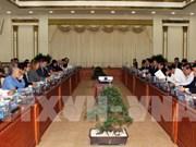 Ho Chi Minh-Ville et les Etats-Unis veulent renforcer leur coopération
