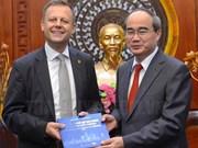Ho Chi Minh-Ville accueille une délégation de Leipzig (Allemagne)