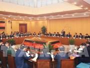 Réunion à propos du projet expérimental de Hanoï en matière de gouvernance métropolitaine