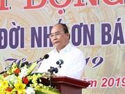 Le PM assiste à une fête de plantation d'arbres à Hanoï