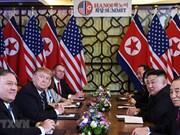 Reconnaissance des efforts des parties pour le 2e Sommet Etats-Unis - RPDC