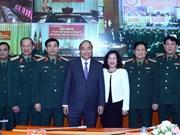 Le PM à une conférence sur la défense des ouvrages et zones militaires