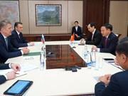Renforcement des relations avec le Bachkortostan (Russie)