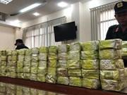 De vastes réseaux de trafic de drogue démantelés au premier trimestre
