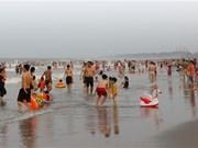 La plage de Cua Lo, destination prisée du Centre