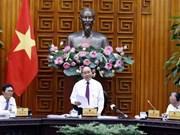 Nguyên Xuân Phuc travaille avec la Télévision du Vietnam