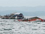 Philippines : au moins sept morts après le naufrage de deux bateaux