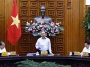 Le PM préside une réunion pour la préparation du 13e Congrès national du Parti