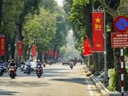Hanoï colorée lors de la Journée de la réunification nationale (30 avril)