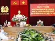 Le président de l'AN assiste à la conférence pour assurer la sécurité et l'ordre du Jour du scrutin