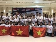 Les élèves de Hanoï brillent au Championnat du monde de  mathématiques par équipe 2018