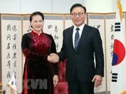 La présidente de l'AN reçoit le consul général honoraire du Vietnam à Busan-Kyeongnam