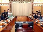 Ho Chi Minh-Ville et le groupe Lotte coopèrent dans la construction d'infrastructures