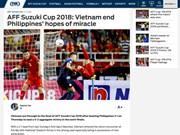 AFF Suzuki Cup 2018: les médias asiatiques saluent la qualification du Vietnam pour la finale
