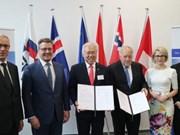 Signature d'un accord économique entre l'Indonésie et l'AELE