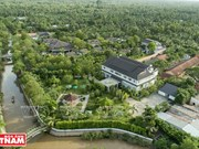 """Une """"perle verte"""" au bord de la rivière Tiên"""