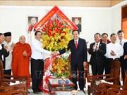Noël : Féliciations aux catholiques de Binh Duong et de Ho Chi Minh-Ville