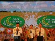 Ouverture du 3e Festival du riz du Vietnam à Long An