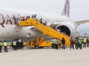 Da Nang accueille le premier vol de Qatar Airways au départ de Doha