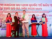 2019 : Accueil des premiers touristes étrangers à Hanoï, à HCM-Ville et à Thua Thien-Hue