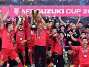Football : la FIFA reconnaît le record de 18 matches sans défaite de l'équipe du Vietnam