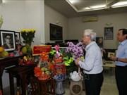Anniversaire de la fondation du PCV : hommage aux anciens dirigeants