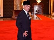 Félicitations au nouveau roi de Malaisie