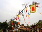 Cây nêu, la perche rituelle du Têt